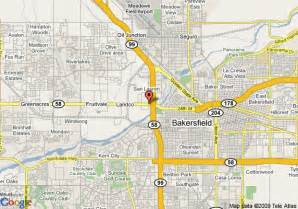 bakersfield california map