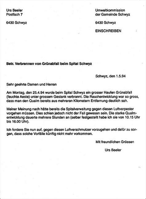 Wie Schreibt Brief Beispiel Strafverfahren Gegen Luftverpester Spitalg 228 Rtner Eingestellt
