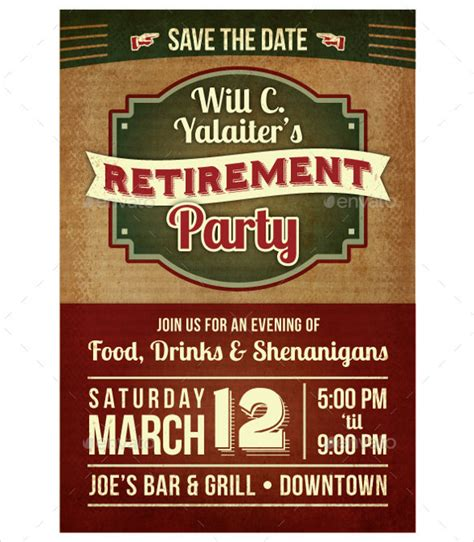 Retirement Flyer Invitation Orderecigsjuice Info Retirement Luncheon Flyer Template