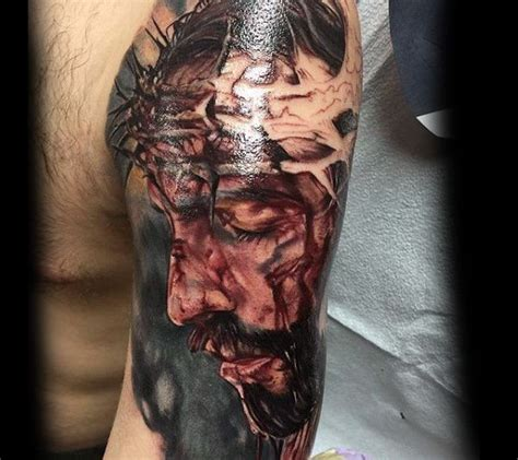jesus tattoo with arm 96 best tatuagens com tema religioso images on pinterest