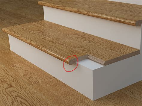 Modern Trim Molding by Physical Why Do Stairs Have Overhangs User Experience
