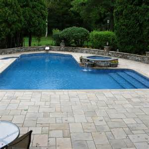 in ground pools blue stardust premium inground liner poolstore com