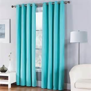 Turquoise curtains window treatment kohl s