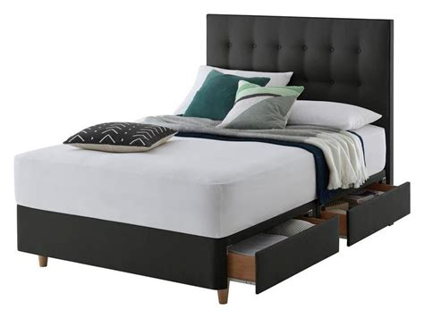 divan bed without headboard bedmaster signature gold 1800 divan set double 4 drawers
