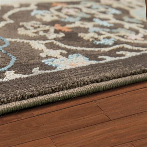teppich mediterran teppich orientalisch hochwertiger flachflor antik optik in