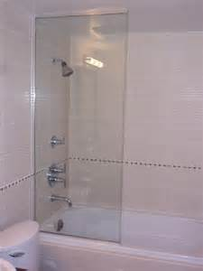 bathtub frameless shower doors frameless tub and shower screens