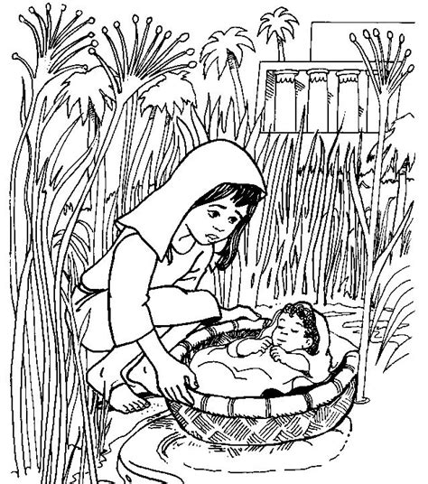 free christian coloring pages moses christian ed to go september 2011