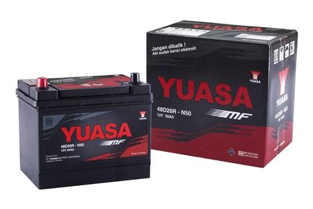 Yuasa Aki Din 55559 yuasa produk