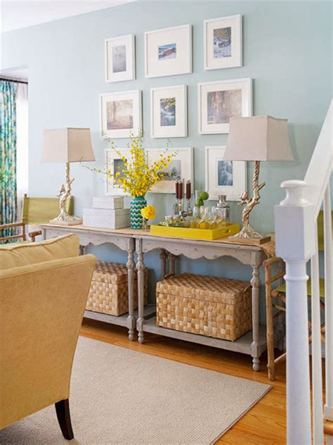 display living room decorating ideas console tables some ideas