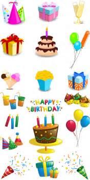 birthday vector graphics