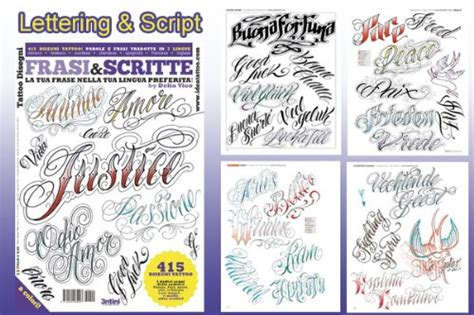 tattoo lettering design books tattoo lettering flash books images