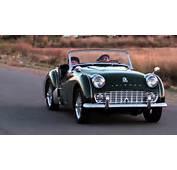 1960 Triumph TR3 A Montage  YouTube