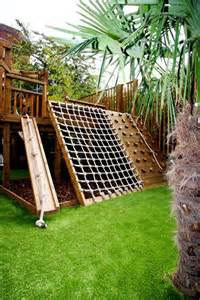 turn the backyard into and cool play space for