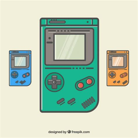 advanced color graphics gameboy vectors photos and psd files free