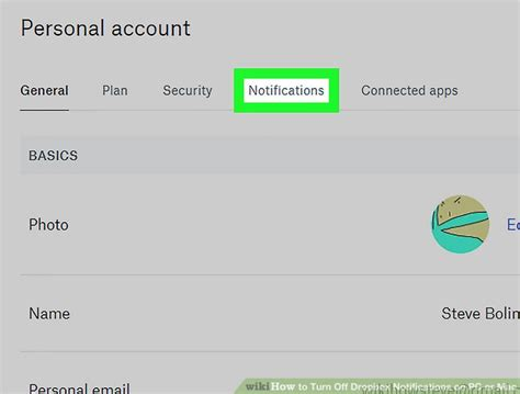 dropbox notifications how to turn off dropbox notifications on pc or mac 14 steps