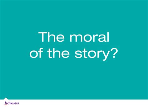 the moral of the story a storyteller s guide to helping brands build relationships with books the moral of the story