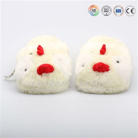 chicken slippers microwave heated slippers plush microwave slipper