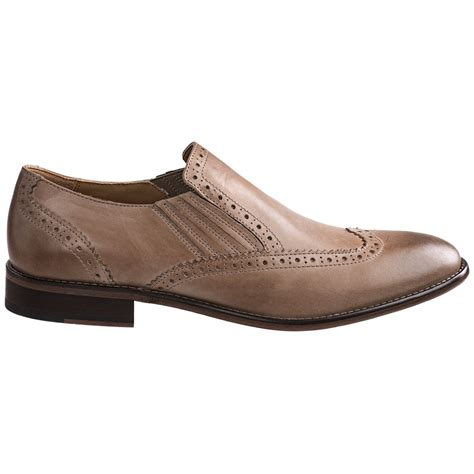 johnston murphy holbrook wingtip venetian shoes for