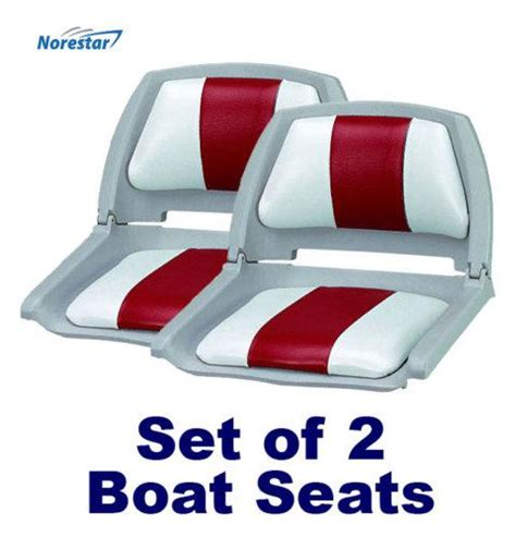 molded boat seats for sale buy set of 2 molded fold down boat seats fishing seats