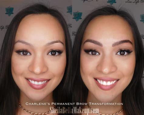 the progress of permanent makeup sheila bella permanent sheila bella permanent makeup and microblading