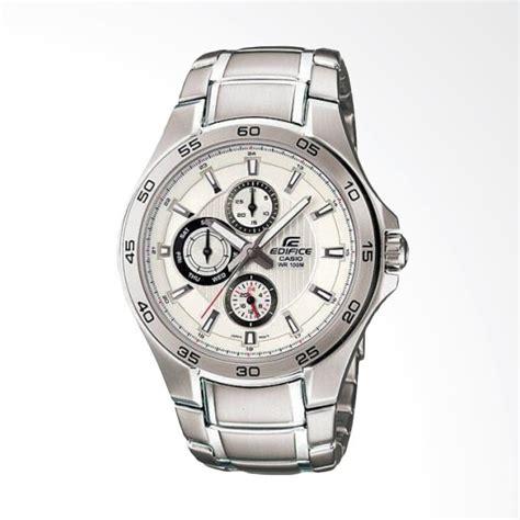 Jam Tangan Stainless Steel Silver Ltp1241d 7 Casio Ori Garansi jual casio edifice chronograph putih bahan tali