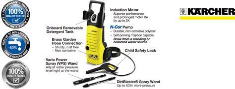 Karcher K 3 450 by Karcher K 3 450 1800 Psi 1 5g Pm Electric