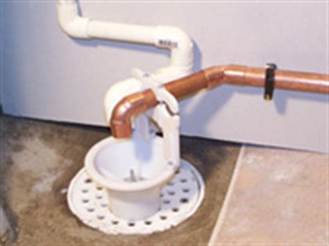 Drain Overflow In Basement - airgap kits for preventing backflow of indirect drains