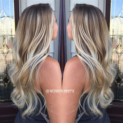 how to retouch the ombre hair style ash blonde balayage ombr 233 perfect hair hair color