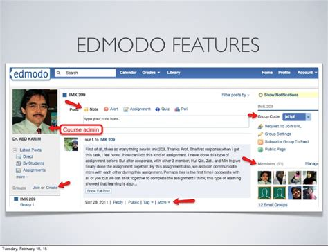 edmodo features edmodo