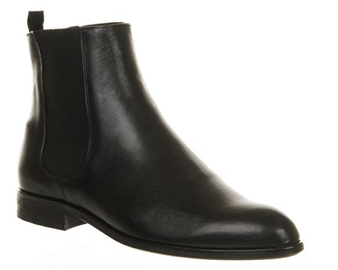 womens poste fern chelsea boot black hi shine