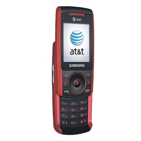 att buy t mobile buy samsung a737 black red at t unlocked gsm cell phone