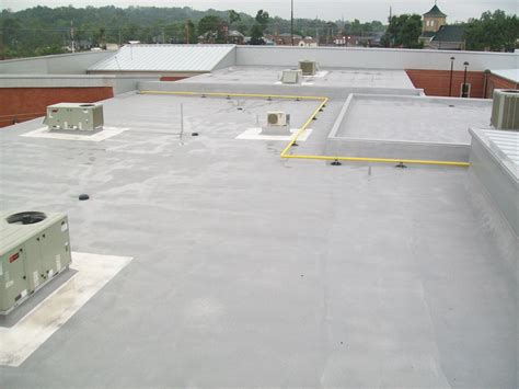 foam roof installing a spray foam roof insulated roofing contractors