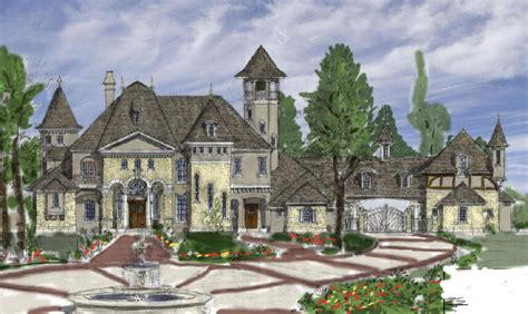 french renaissance architecture authentic french country luxury homes plans