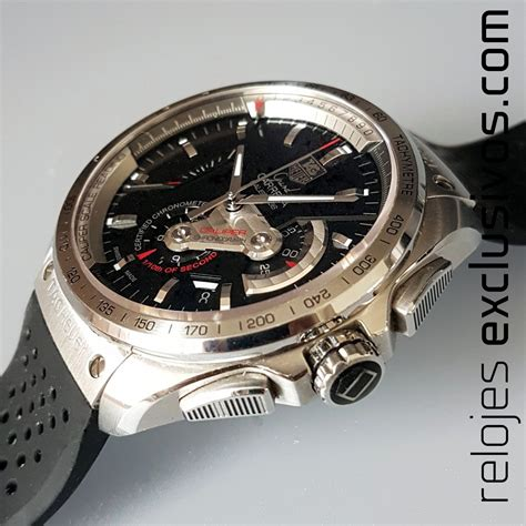 Tag Heur Grand Carera Calibre 36 Rubber With Date Mesin Transparant tag heuer grand calibre 36 cav5115 ft6019
