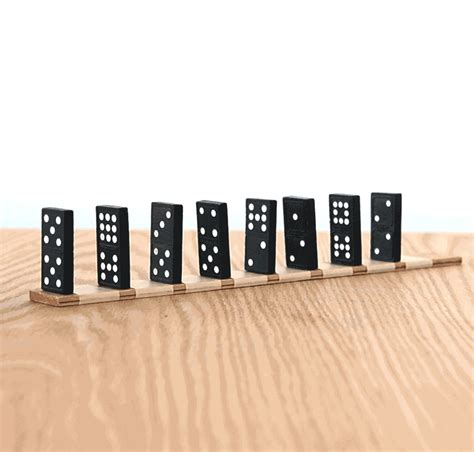 Domino A by Domino Effect Biology Perception Science Activity