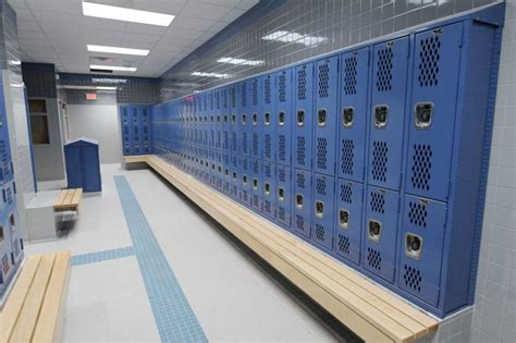 middle school locker room slew of tech and facility upgrades times union