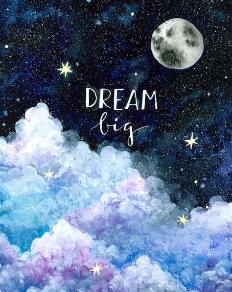 galaxy wallpaper dream dream stars and moon image we it pinterest moon