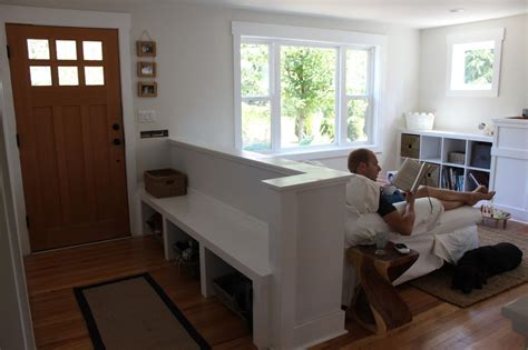 build   wall   bench  create  entryway