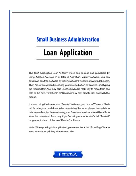 Loan Application Letter For Business Business Loan Application Letter Sle Free Printable Documents