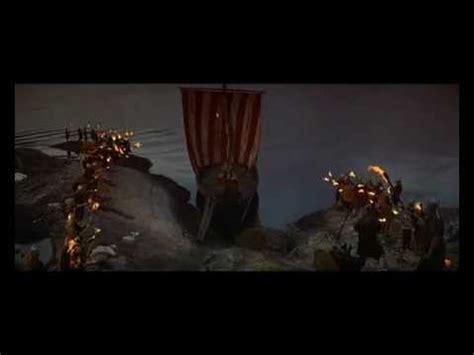 fire boat funeral kirk douglas einar viking funeral youtube