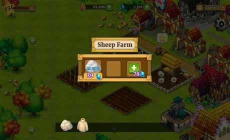 mod game farm village town village 1 4 8 apk mod coins gems android