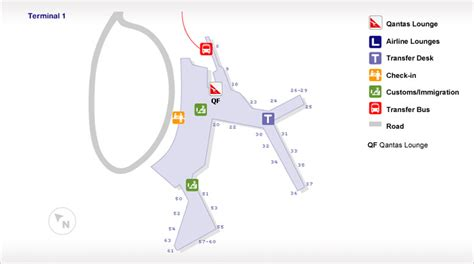sydney airport diagram sydney international airport t1 guide qantas