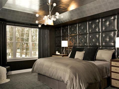 black wallpaper for bedroom walls photo page hgtv