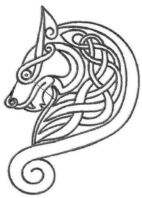 irish wolf tattoo designs best 25 celtic wolf ideas on viking