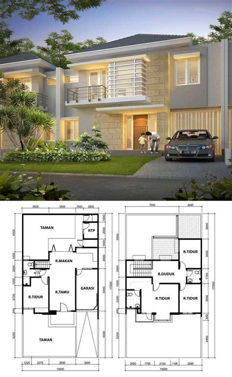 layout rumah lantai 2 47 best rumah 2 lantai images on pinterest house design