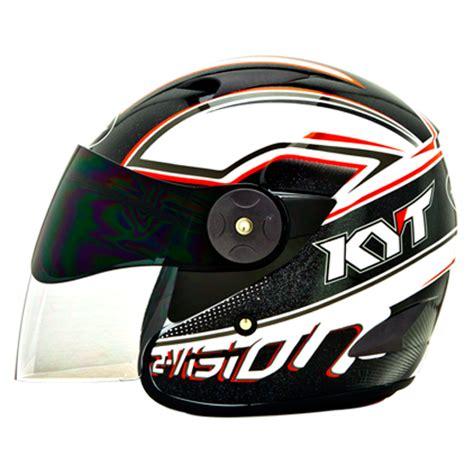 Helm Kyt 2 Vision Motif Black helm kyt 2 vision seri 6 pabrikhelm jual helm murah