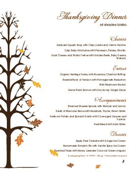 Thanksgiving Menu Templates And Designs Musthavemenus Menu Template For Thanksgiving