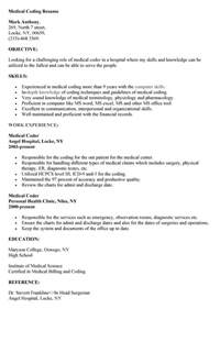 Resume For Coder by Coding Resume Resume Coding And