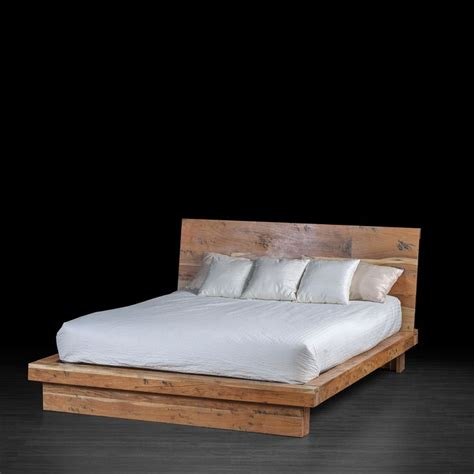 industrial style tan bed features   profile acacia