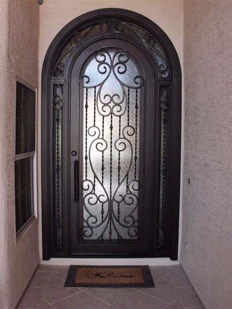 iron entry doors in landmark iron design